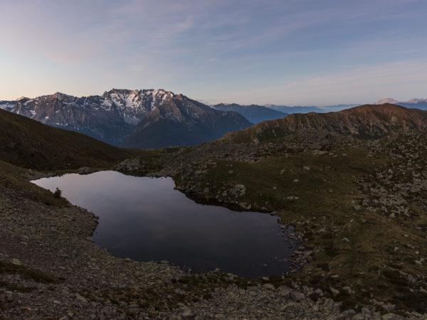 Lago di Grom inferiore