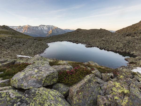 Lago di Grom superiore