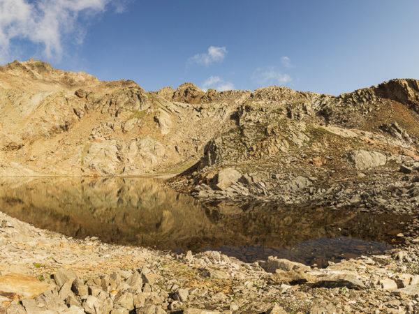 Laghetto Alto di Ercavallo 2.955m - D18 103