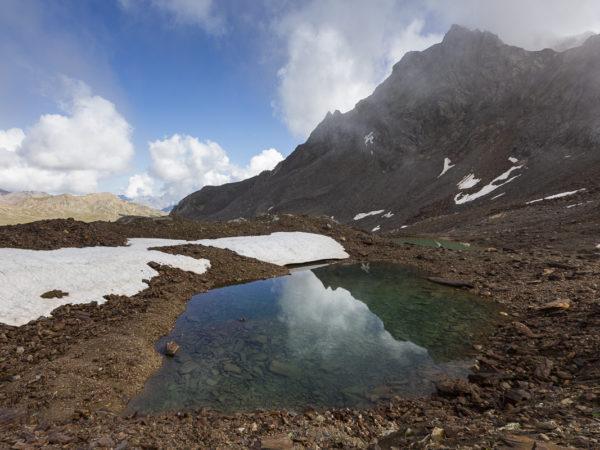Lago alto (sotto il Corno dei Tre Signori)